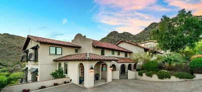 Paradise Valley Single Family Home For Sale: 7202 N Clearwater Parkway