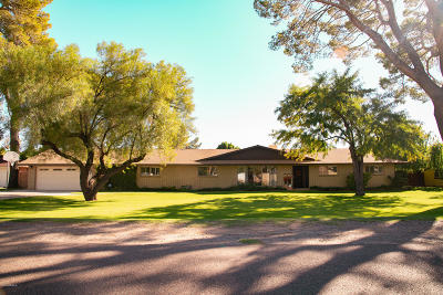 Single Family Home For Sale: 5137 E Earll Drive