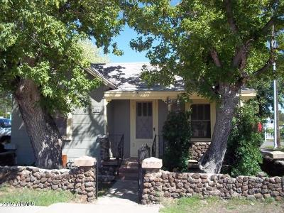 Williams AZ Single Family Home For Sale: $159,900