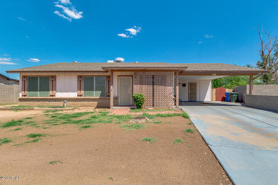 Phoenix Single Family Home For Sale: 3001 N 57th Drive
