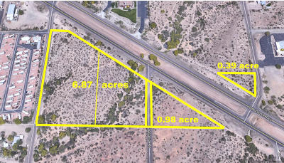 Apache Junction Residential Lots & Land For Sale: 2400 E Old West (Approx) Highway