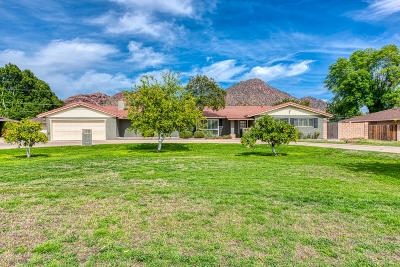 Phoenix Single Family Home For Sale: 4480 E Lafayette Boulevard
