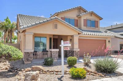 Goodyear Single Family Home UCB (Under Contract-Backups): 411 N 167th Drive