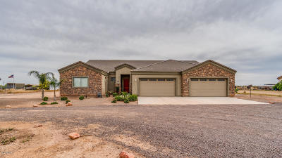 Wittmann Single Family Home For Sale: 23931 W Pinnacle Vista Lane