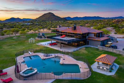 Scottsdale Single Family Home For Sale: 8151 E Morning Vista Road
