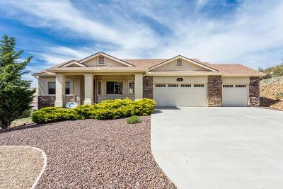 Prescott Single Family Home For Sale: 1077 Sunrise Boulevard