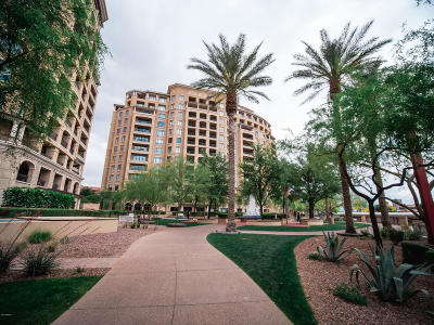 Scottsdale Waterfront, Scottsdale Waterfront Residences, Scottsdale Waterfront Residences Condominium Apartment For Sale: 7181 E Camelback Road #1102