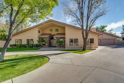 Tempe Single Family Home For Sale: 15 E Los Arboles Circle