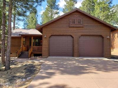 Show Low Single Family Home For Sale: 2771 W Lodgepole Lane