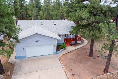 Overgaard Single Family Home For Sale: 3402 Pine Cone Drive