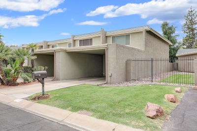 Phoenix Condo/Townhouse UCB (Under Contract-Backups): 7630 N 19th Drive