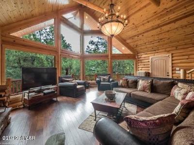 Pinetop Single Family Home For Sale: 6168 N Paradise Pine Lane