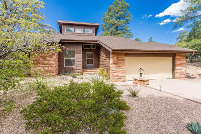 Prescott Single Family Home For Sale: 1106 Woodspur Circle