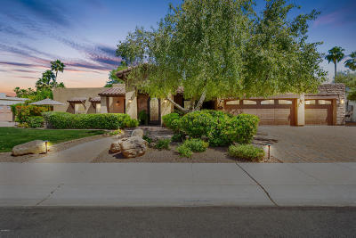Scottsdale Single Family Home For Sale: 8561 E San Marcos Drive