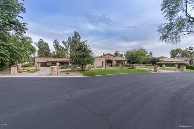 Paradise Valley Single Family Home For Sale: 7121 E Oakmont Drive