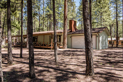 Pinetop Single Family Home For Sale: 8457 Alchesay Drive