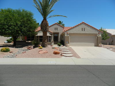 Sun City West Rental For Rent: 15428 W Gunsight Drive