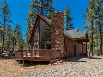 Prescott Single Family Home For Sale: 1205 W Cougar Lane