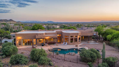 Apache Junction Single Family Home For Sale: 6782 E Quail Hideaway Lane