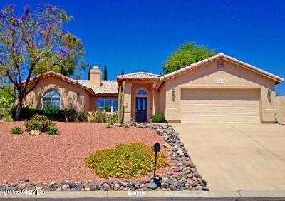 Fountain Hills Single Family Home UCB (Under Contract-Backups): 15036 E Mustang Drive