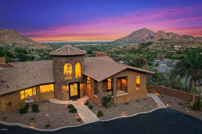 Paradise Valley Single Family Home For Sale: 7525 N Clearwater Parkway