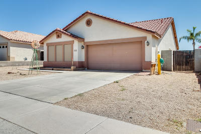 Peoria Single Family Home For Sale: 10533 W Foothill Drive