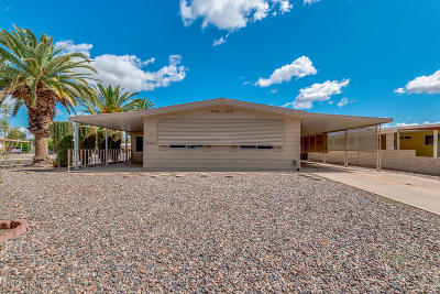 Sun Lakes Single Family Home For Sale: 9101 E Country Club Drive