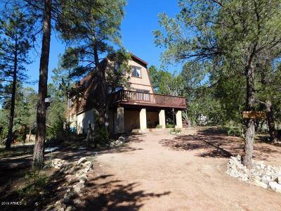 Overgaard AZ Single Family Home For Sale: $219,900