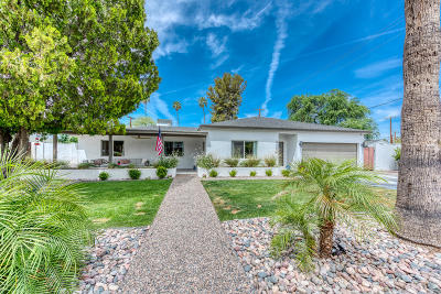 Scottsdale, Paradise Valley, Phoenix, Chandler, Tempe, Gilbert, Mesa Single Family Home For Sale: 4250 N 35th Street