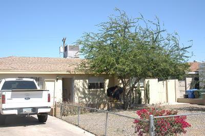 Phoenix AZ Single Family Home For Sale: $185,000