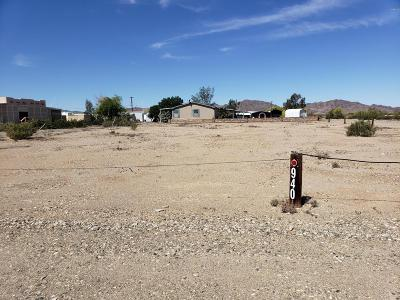 Quartzsite Residential Lots & Land For Sale: 940 W Pyramid Street