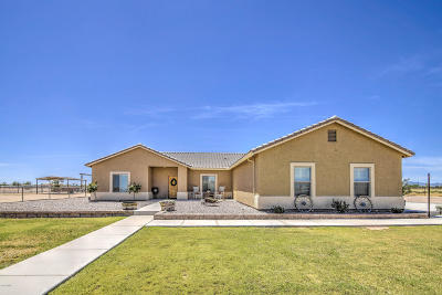 Maricopa County, Pinal County Single Family Home For Sale: 34795 W Cudia Road