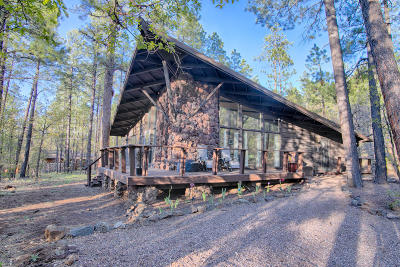 Pinetop Single Family Home For Sale: 2257 Sunflower Drive