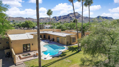 Paradise Valley Single Family Home For Sale: 6424 E Maverick Road