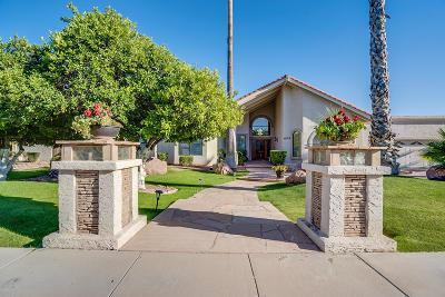 Mesa Single Family Home UCB (Under Contract-Backups): 4055 E Grandview Street