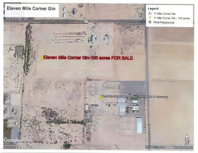 Casa Grande Residential Lots & Land For Sale: 387 W Highway 287