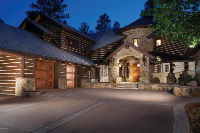 Flagstaff Single Family Home For Sale: 3956 S Clubhouse Circle