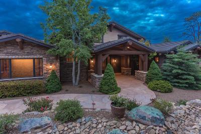Prescott AZ Single Family Home For Sale: $1,850,000