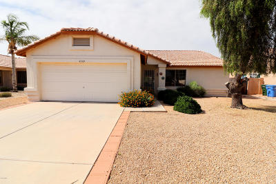 Glendale Single Family Home For Sale: 10322 W Reade Avenue