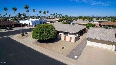 Sun City Single Family Home UCB (Under Contract-Backups): 14202 N Buttercup Drive