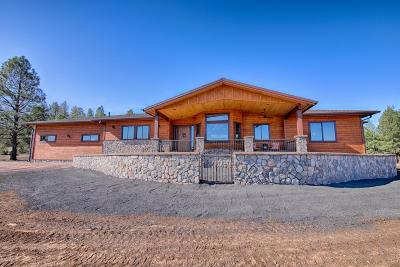 Pinetop Single Family Home For Sale: 9527 Sierra Springs Lane