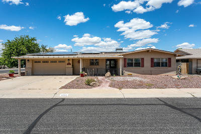 Sun City Single Family Home UCB (Under Contract-Backups): 10044 W Cumberland Drive
