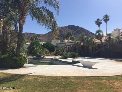 Paradise Valley Single Family Home UCB (Under Contract-Backups): 6201 N Yucca Road