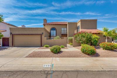 Scottsdale Single Family Home For Sale: 5401 E Sandra Terrace