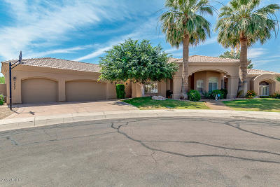 Scottsdale Single Family Home For Sale: 9595 E Shangri La Road