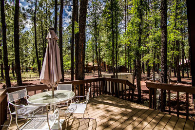 Pinetop Single Family Home For Sale: 6957 Palomino Drive