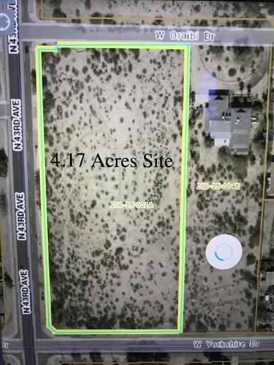 Glendale Residential Lots & Land For Sale: 19555 N 43rd Avenue