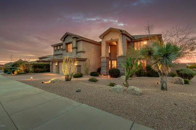 Scottsdale Single Family Home For Sale: 11476 E Whitethorn Drive