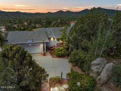Prescott Single Family Home For Sale: 1491 Copper Basin Road
