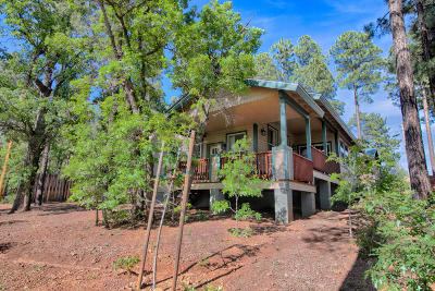 Pinetop Single Family Home For Sale: 401 S Cotton Tail Lane